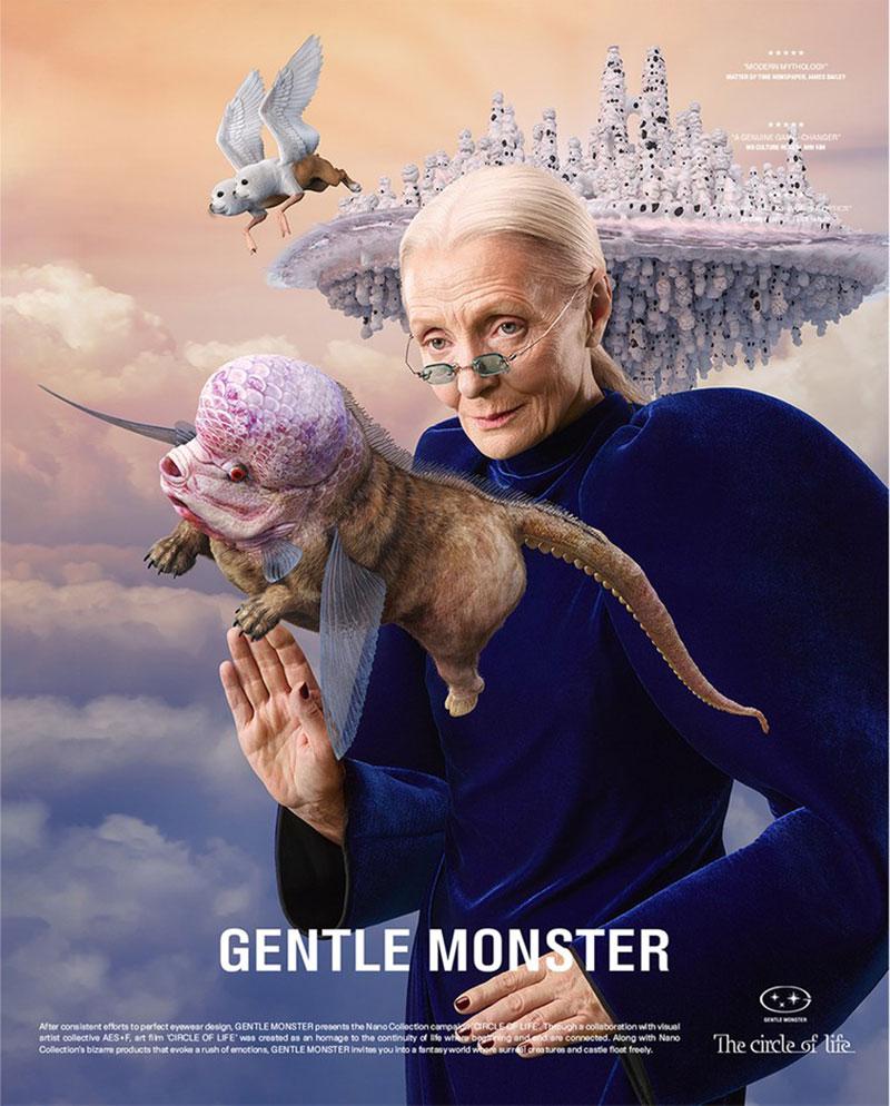 Gentle Monster ra mắt loạt kính Nano siêu tí hon
