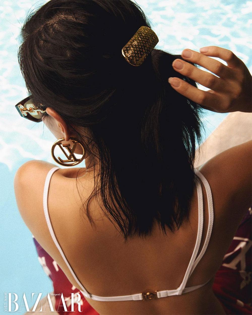 Châu Bùi, Jun Vũ, Quỳnh Anh Shyn tiết lộ 6 phụ kiện, trang sức, mắt kính logomania hot nhất từ Louis Vuitton cho mùa hè 2021