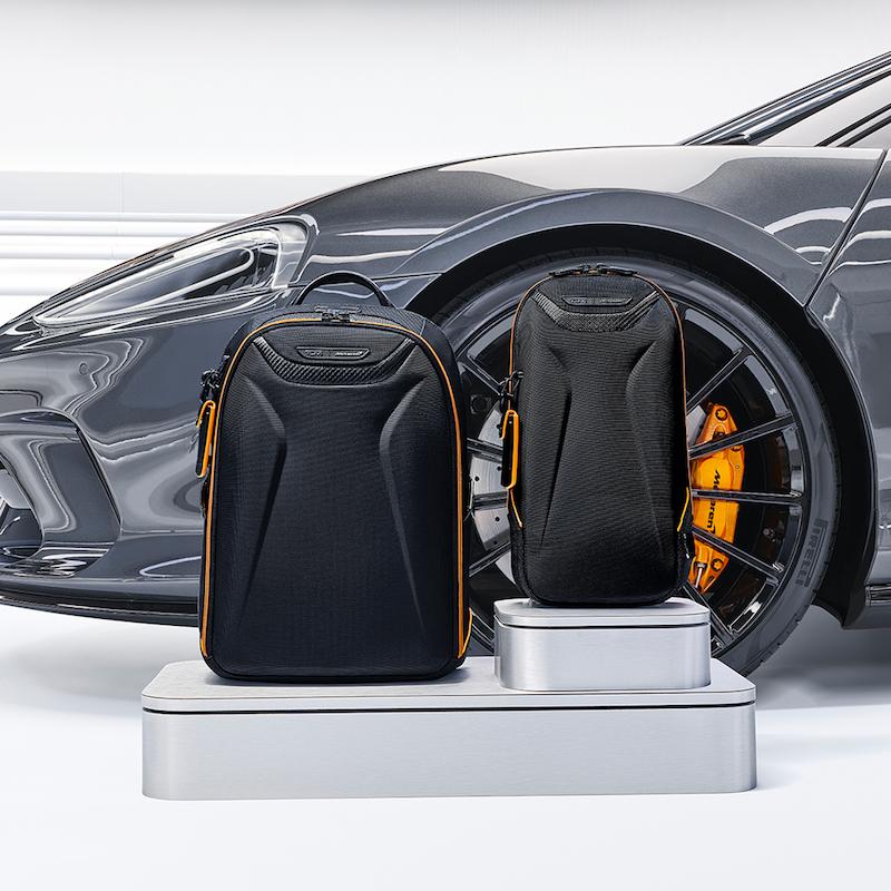 Tumi ra mắt bộ sưu tập hành lý lấy cảm hứng từ siêu xe McLaren   1