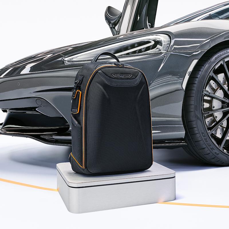 Tumi ra mắt bộ sưu tập hành lý lấy cảm hứng từ siêu xe McLaren   5