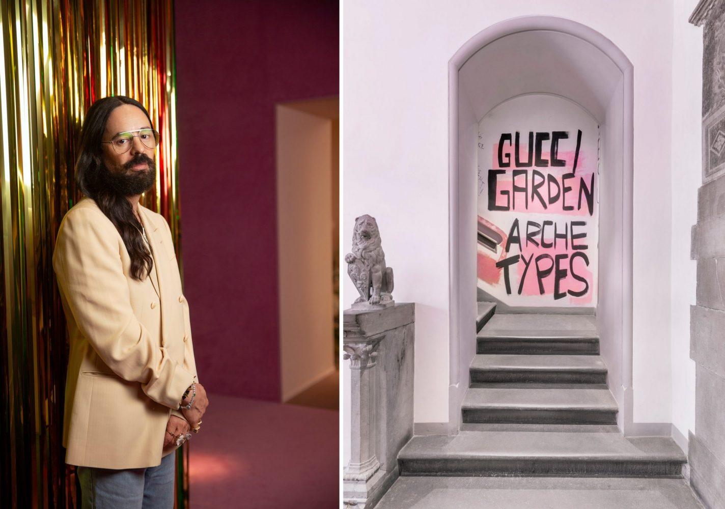 Truy cập miễn phí triển lãm Archetypes mừng sinh nhật 100 tuổi của Gucci