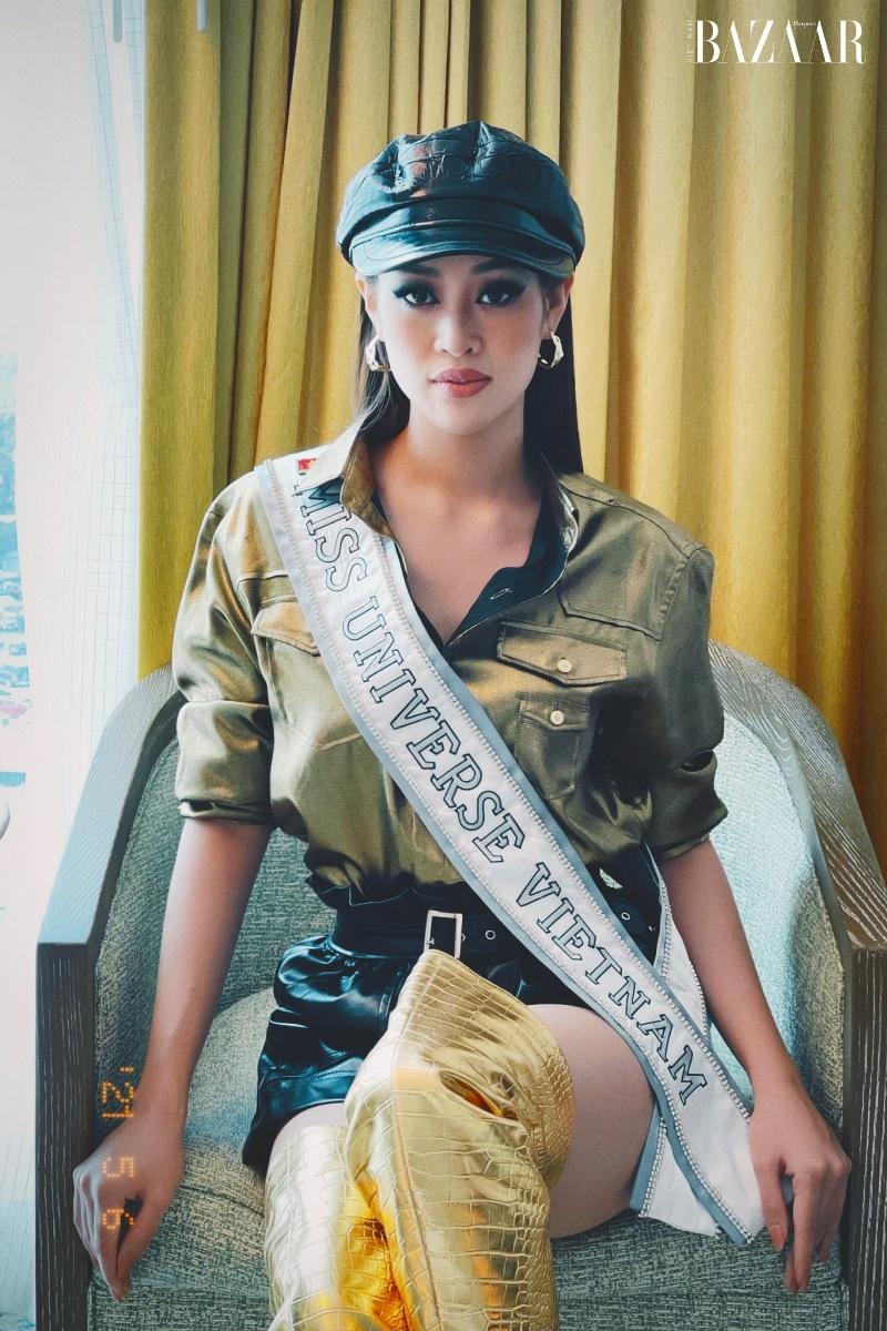Hoa hậu Khánh Vân nổi bật với phong cách futuristic tại Miss Universe 5