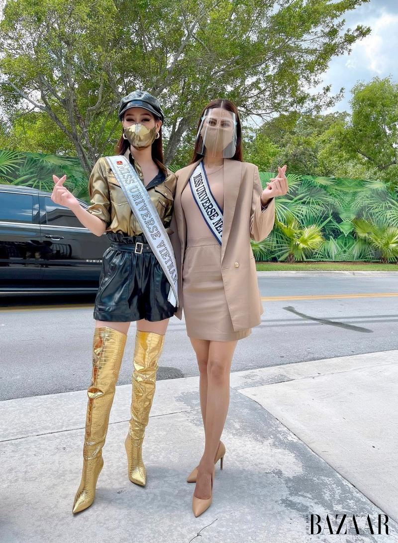 Hoa hậu Khánh Vân nổi bật với phong cách futuristic tại Miss Universe 4