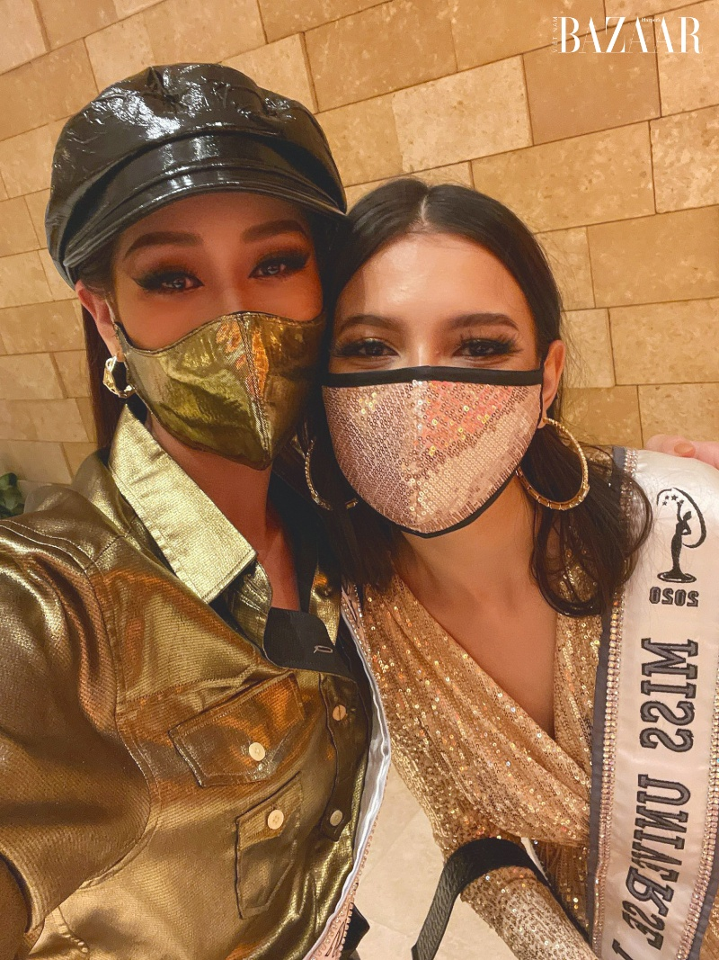 Hoa hậu Khánh Vân nổi bật với phong cách futuristic tại Miss Universe 3