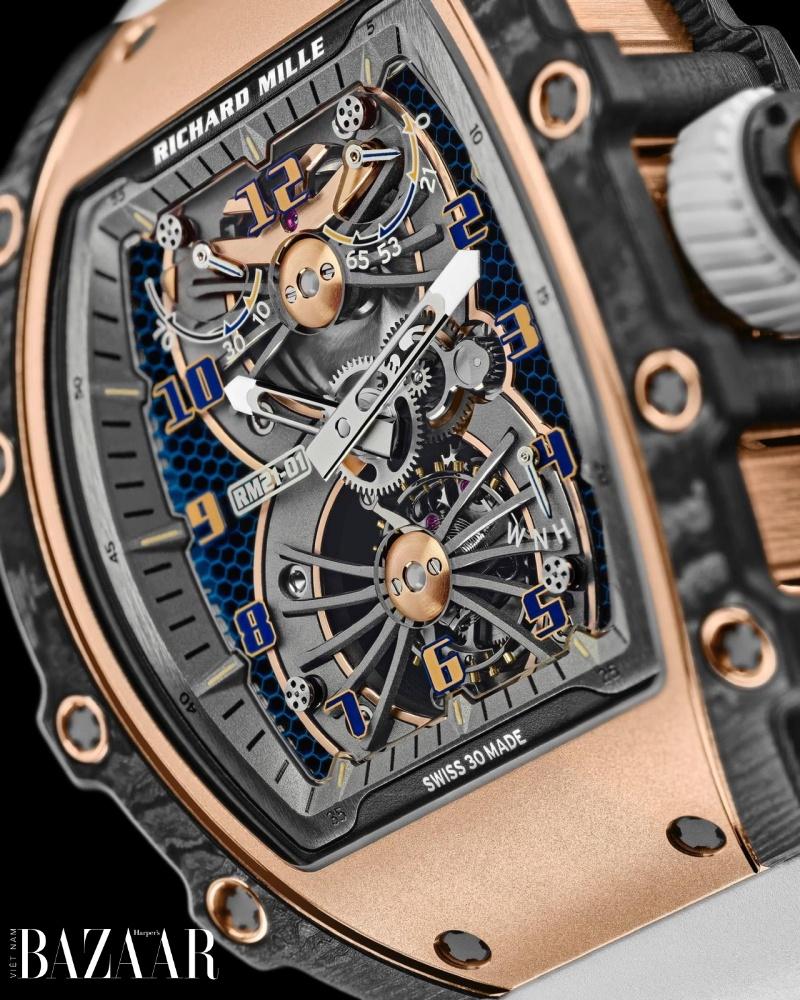 Chiếc đồng hồ mang công nghệ vũ trụ 1