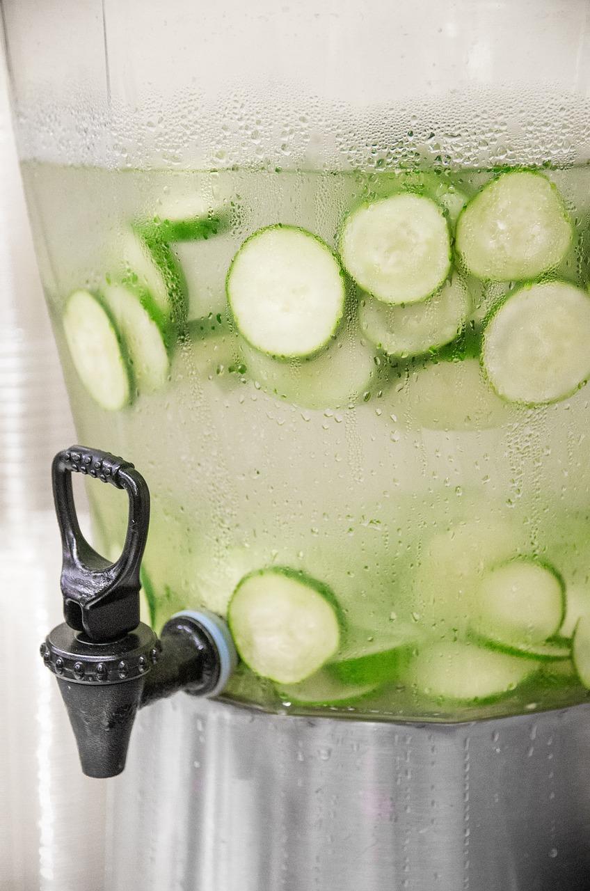 Công thức detox giảm mỡ bụng: Nước dưa chuột