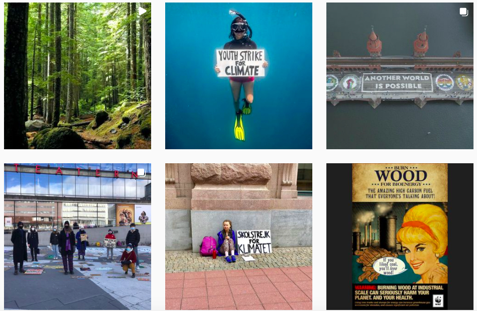 Greta Thunberg - một trong những tài khoản Instagram nên follow