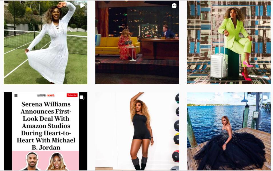 Những người truyền cảm hứng cho cộng đồng – Serena Williams