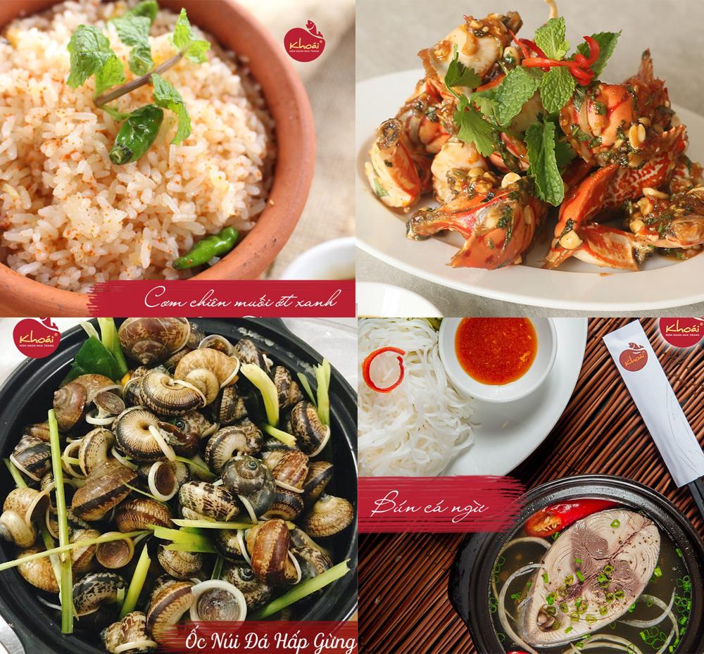 Khoái, nhà hàng Việt Nam ngon ở Sài Gòn