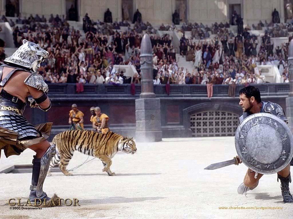 Những bộ phim chiến tranh cổ đại hay nhất: Võ sĩ giác đấu