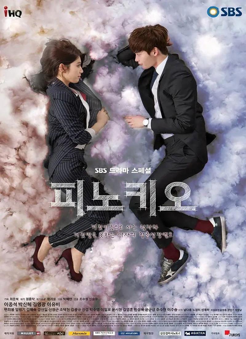 Những bộ phim hay của Lee Jong Suk:Cô bé người gỗ - Pinocchio (2014)