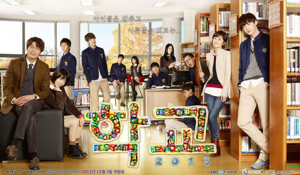 Những bộ phim hay của Lee Jong Suk: Học đường