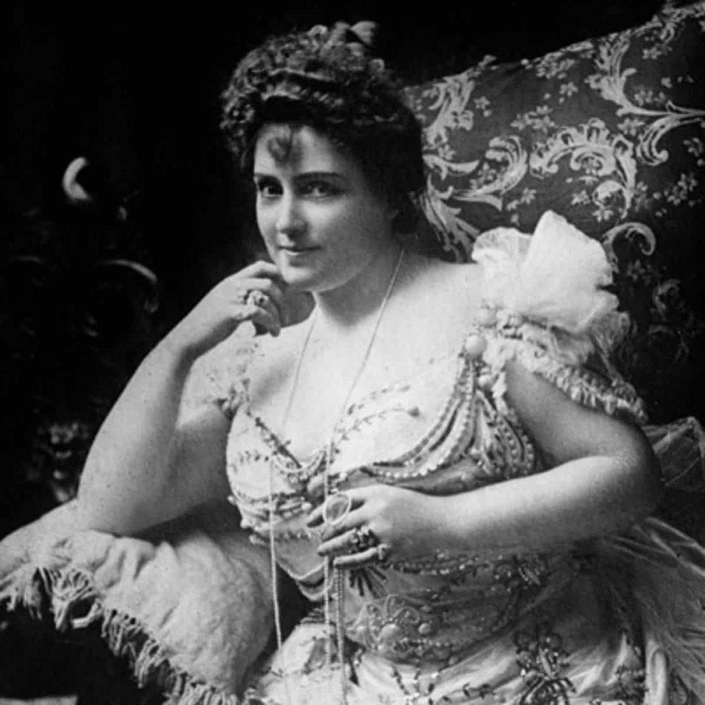 """Nữ diễn viên """"ngàn cân'' Lillian Russell"""