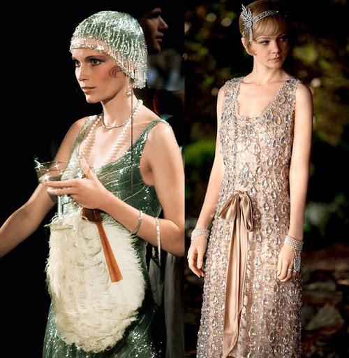 các flapper girl trong Đại gia Gatsby