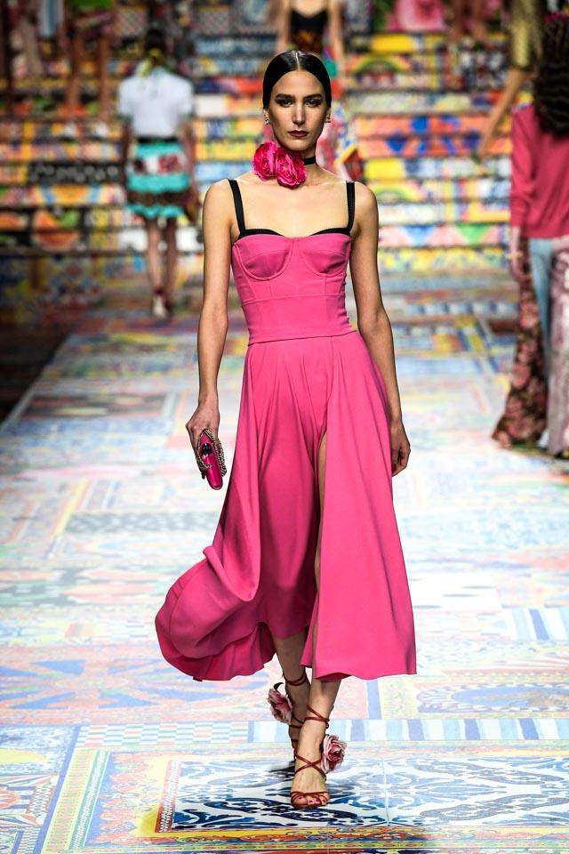 Bộ sư tập Xuân ready-to-wear 2021 của Dolce & Gabbana
