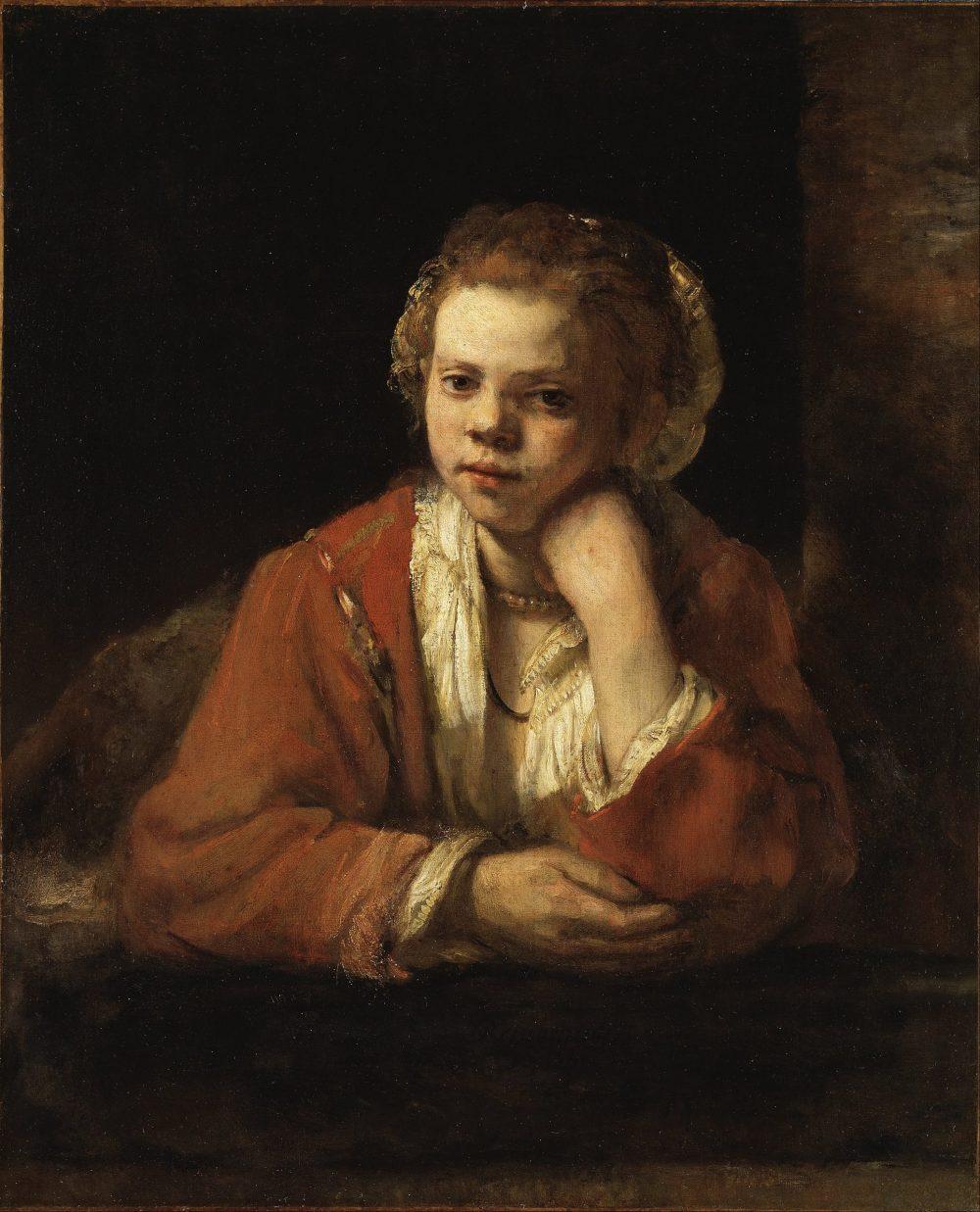"""Bức tranh """"The Kitchen Maid"""" của danh họa Rembrandt van Rijn năm 1651"""