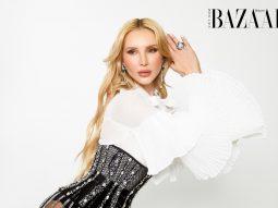 Người mẫu – diễn viên Katya Bakat chuộng phong cách cổ điển trong thời trang
