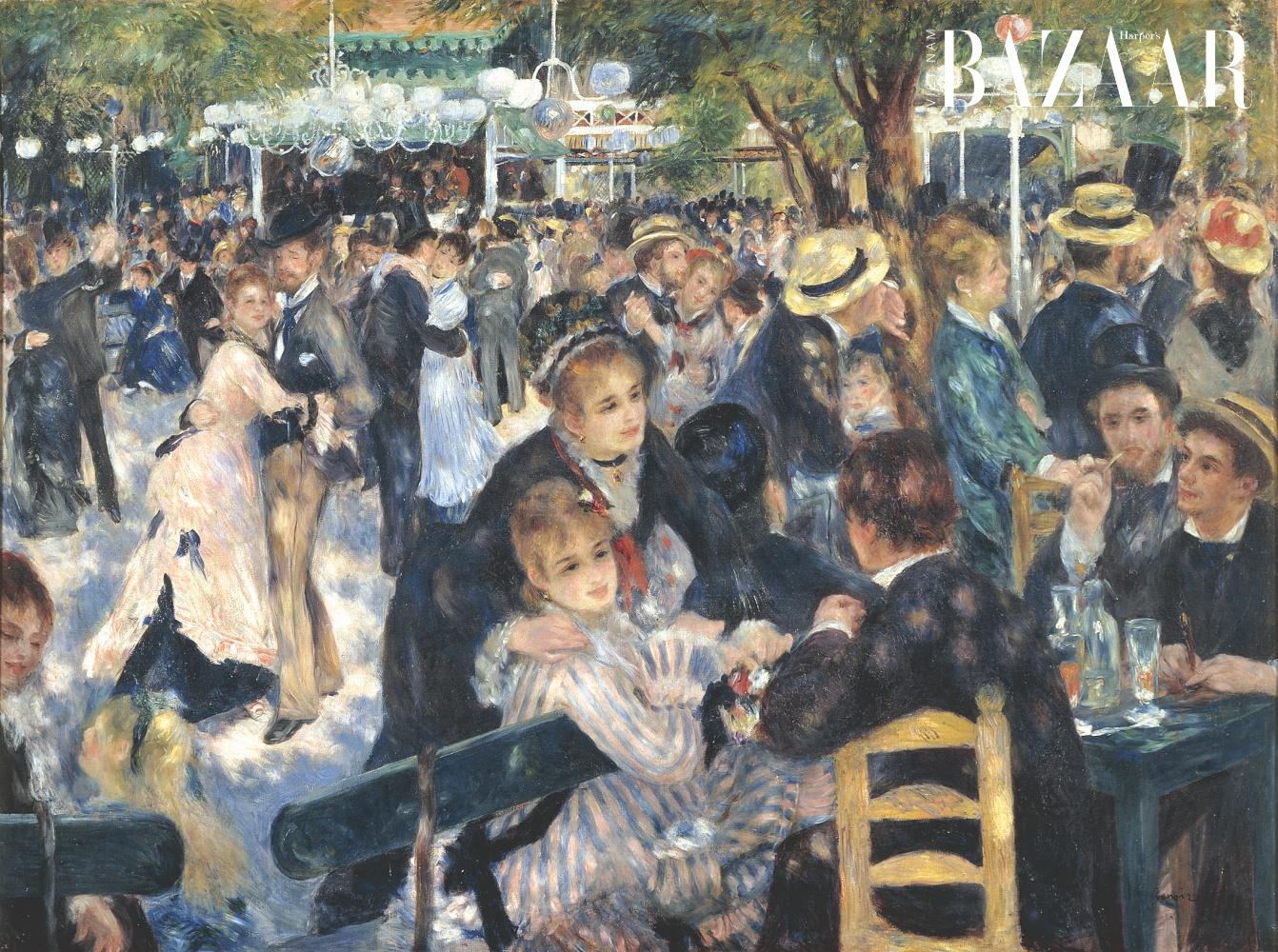 Buổi khiêu vũ tại Moulin de la Galette - Bal du moulin de la Galette (1876).
