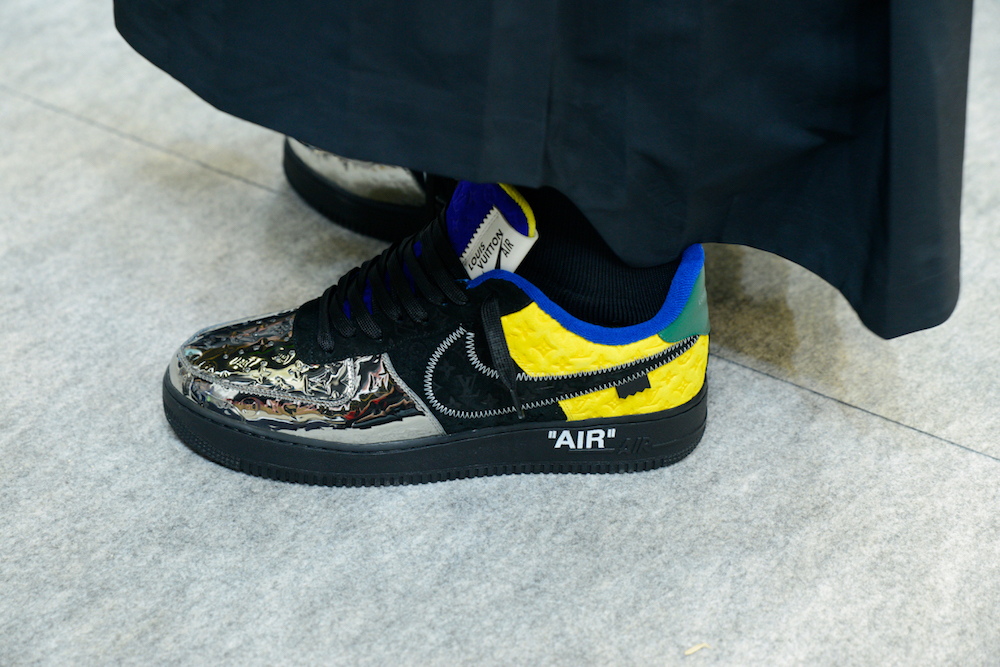 """The """"tricky"""" marketing from Virgil Abloh for Nike Air Force 1 X Louis Vuitton"""