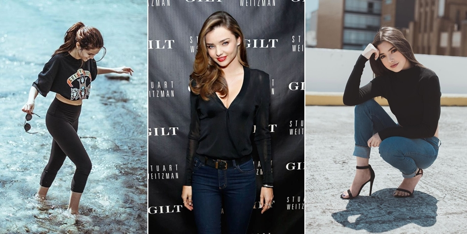 Áo đen nên kết hợp với quần màu gì?