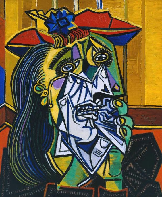 Tác phẩm The Weeping Woman của Pablo Picasso