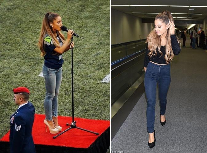 Quần jean skinny cho cô nàng gầy