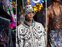 Dolce & Gabbana Men Xuân Hè 2022: Liệu pháp ánh sáng mang đến niềm vui