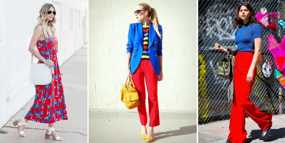 Màu đỏ kết hợp với màu gì thì đẹp?
