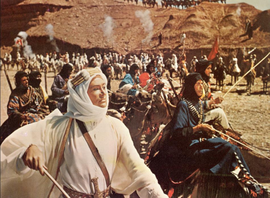 Những bộ phim dựa trên câu chuyện có thật: Lawrence xứ Ả Rập