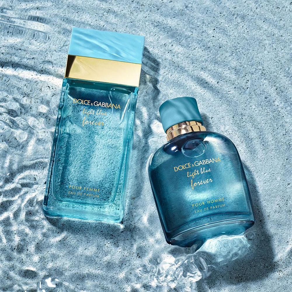 Dolce & Gabbana Light Blue Forever: Bộ đôi nước hoa hương biển cho chàng và nàng