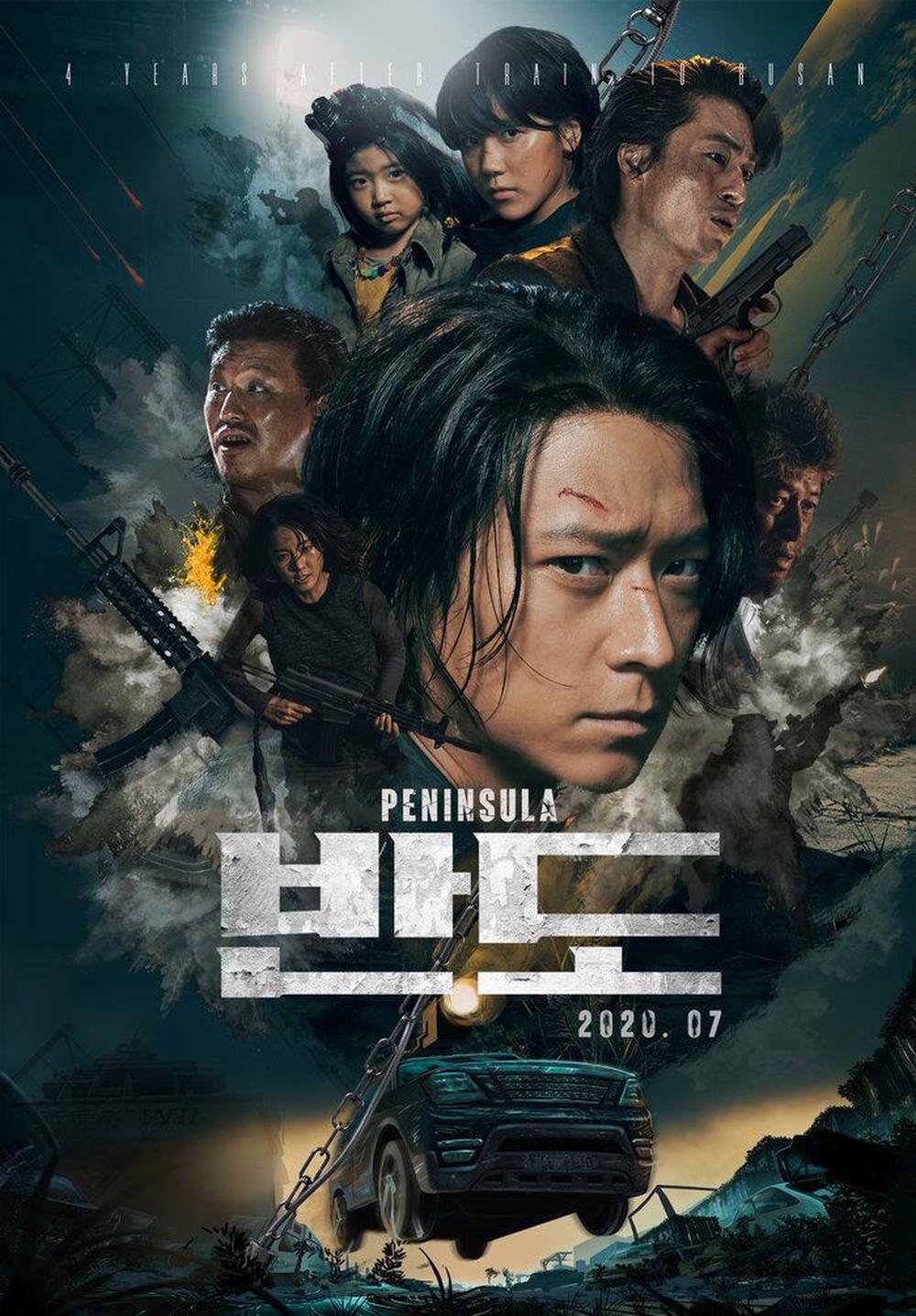Phim của Kang Dong Won: Bán đảo Peninsula
