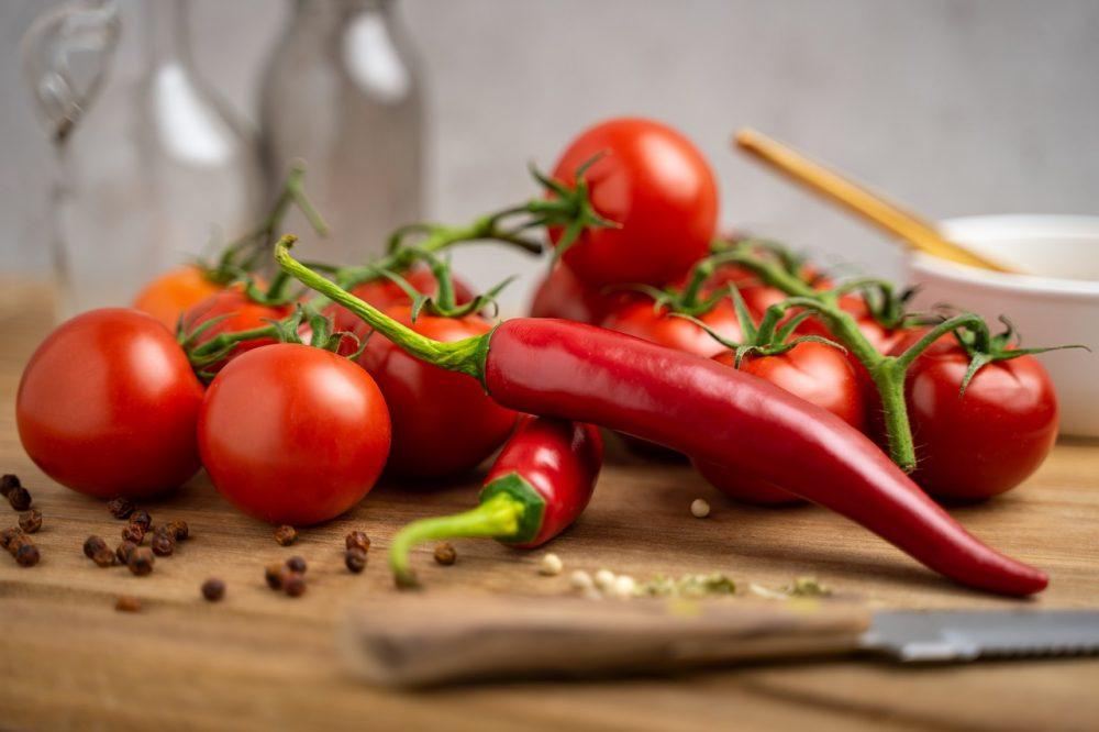 lợi ích của ớt