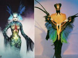 Siêu thực là gì? Thiết kế lấy cảm hứng từ cánh bướm đặc sắc (phải).