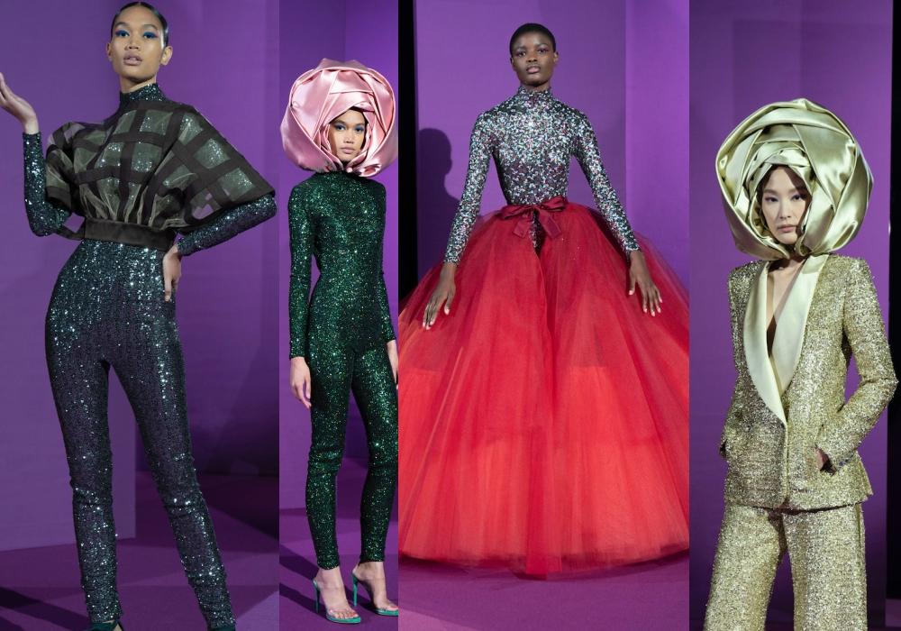 Alexis Mabille Haute Couture Thu Đông 2021: Bung nở những nhành hoa