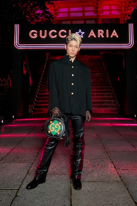 Rocker hàng đầu của xứ hoa anh đào Miyavi. Ảnh: Gucci.