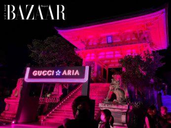 Hoành tráng như Gucci Nhật Bản: Mừng sinh nhật 100 năm tại đền chùa và cung điện hoàng gia