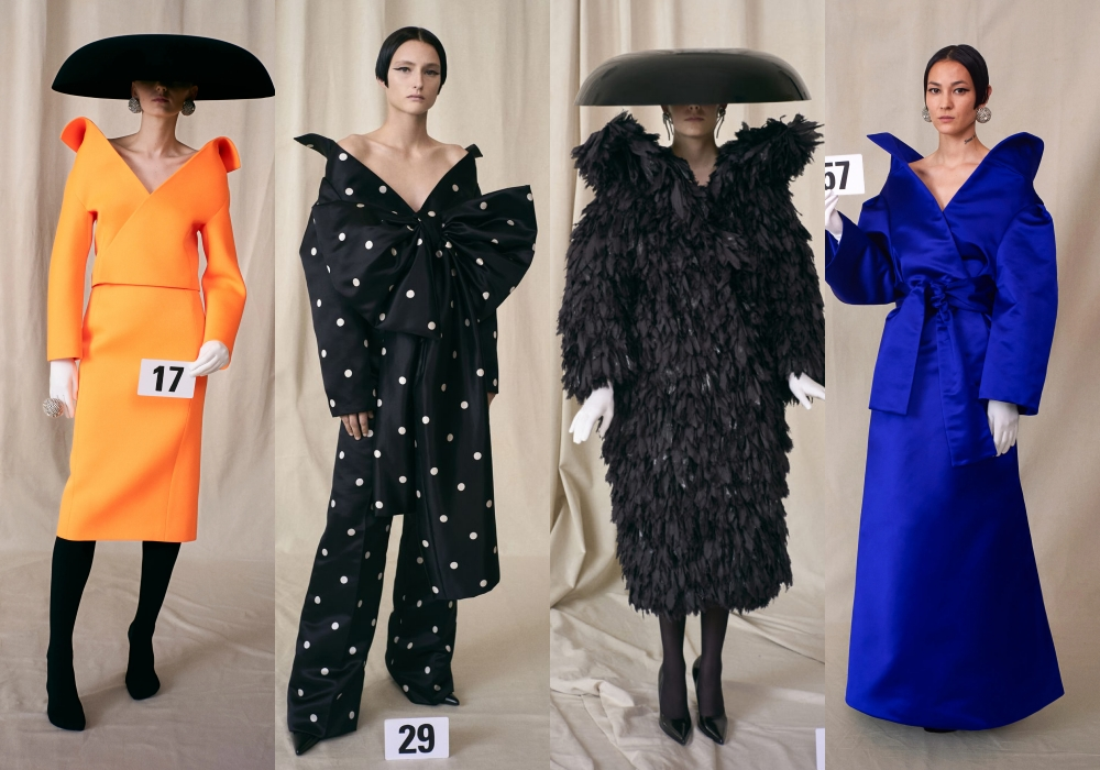 Balenciaga Haute Couture Thu Đông 2021: Streetwear giao thoa cùng tinh thần couture