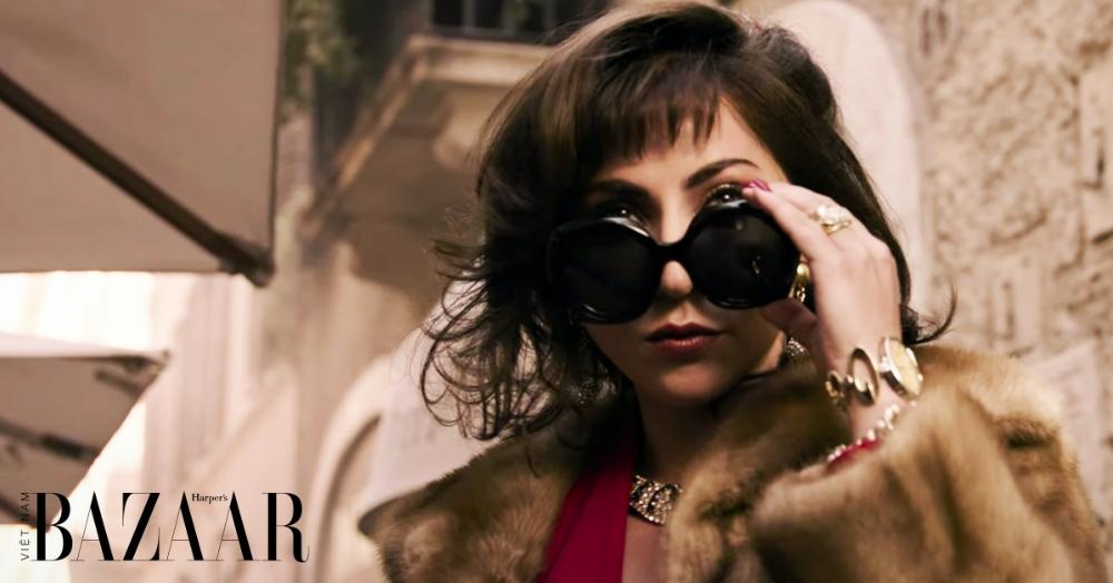 Lady Gaga sành điệu trong trailer phim House of Gucci.