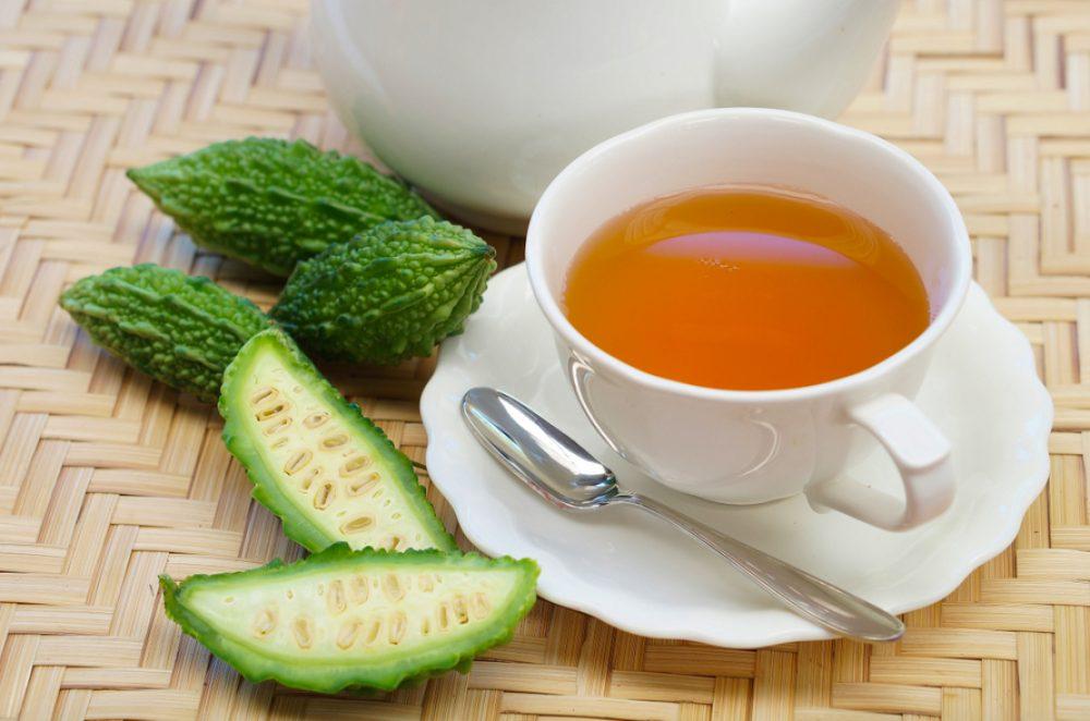 cách làm trà mướp đắng giảm cân