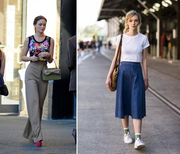 Đùi to mặc gì? Chọn quần/váy có màu neutral