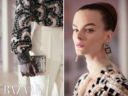 Fendi Haute Couture Thu Đông 2021 tái hiện kiến trúc cổ kính của Rome