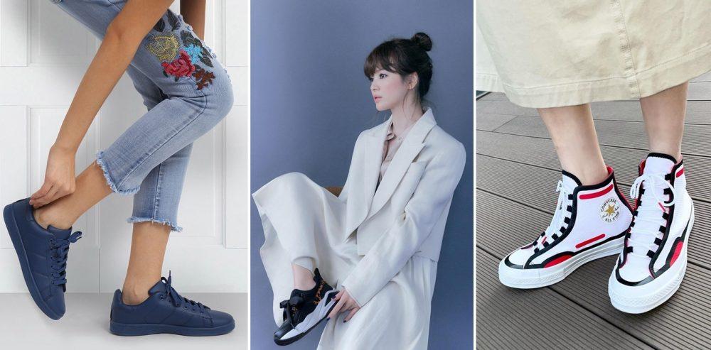 Giày thể thao nữ màu nào dễ phối đồ nhất?