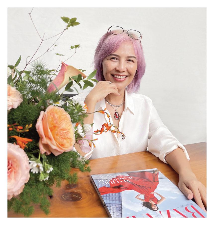 Chân dung nhà báo Trần Nguyễn Thiên Hương, người đã đưa Harper's Bazaar về Việt Nam