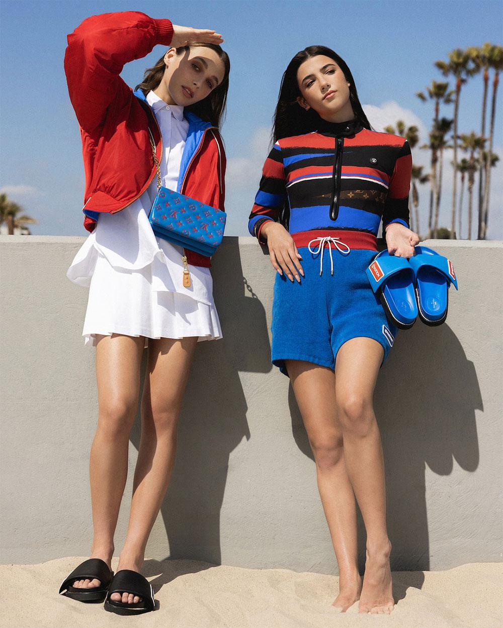 Ngôi sao mới của Louis Vuitton: Charli D'Amelio và Emma Chamberlain