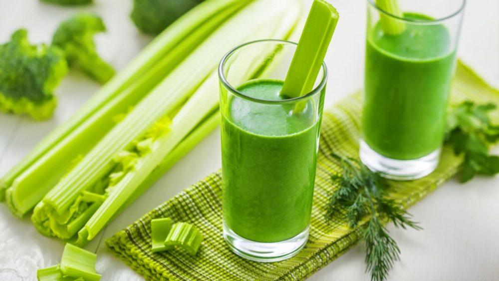 Uống gì để giảm cân? Nước ép cần tây