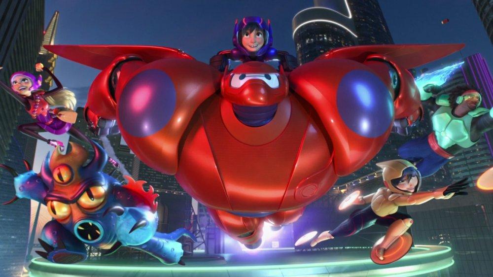Phim khoa học viễn tưởng hay nhất mọi thời đại: Biệt đội Big Hero 6