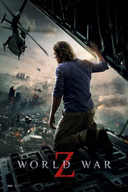 phim zombie hay nhất mọi thời đại: Thế chiến Z - World war Z (2013)