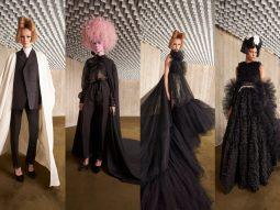Giambattista Valli Haute Couture Thu Đông 2021 đưa thời trang Pháp hào hoa vào bối cảnh điện ảnh kinh dị của Mỹ