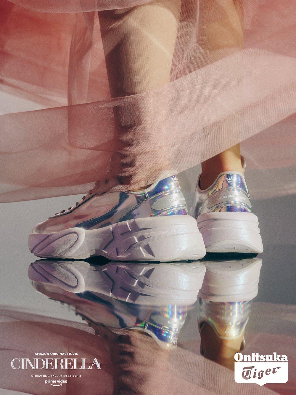 Onitsuka Tiger x Cinderella ra mắt mẫu giày sneaker phiên bản giới hạn