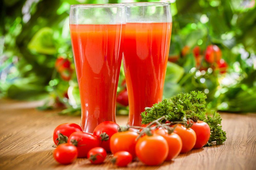 giảm cân bằng nước ép cà chua